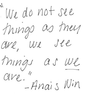 anais nin, are and frases