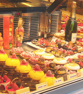 bakery, boulangerie and champagne