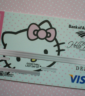 card, credit card and girly