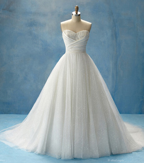 alfred angelo, bride and cinderella