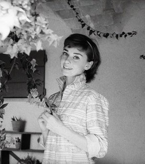 audrey, beautiful and brown hair