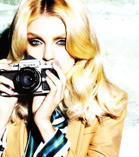 editorial, ellen von unwerth and jessica stam