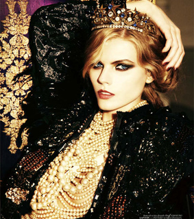 editorial, ellen von unwerth and maryna linchuk