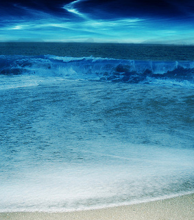 beach, blue and nature
