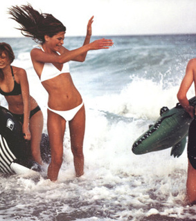 2000, angela lindvall and beach