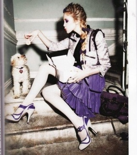 bow, ellen von unwerth and fashion