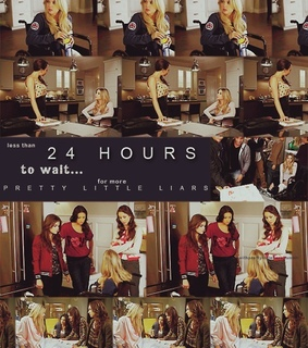 24 hours, hanna and pretty little liars