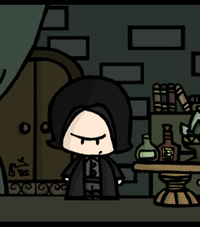 cute, harry potter and severo snape