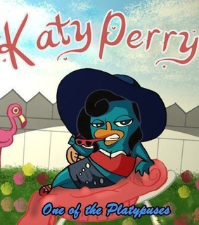 cute, katy perry and platypus