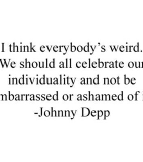 indieideas, johnny depp and quotes