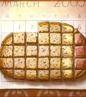 art, brot and calender
