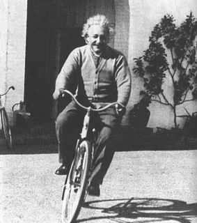 albert, albert einstein and bici