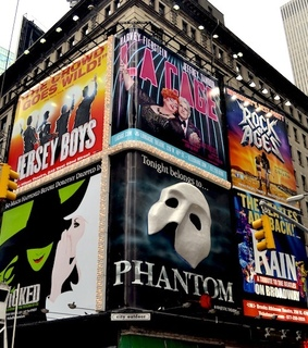 broadway, jersey boys and new york