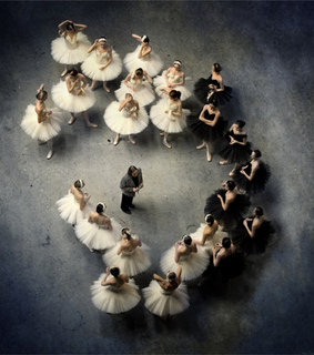 backstage, ballerinas and ballet