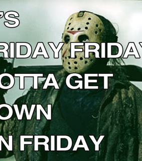 13th friday, friday and friday the 13th