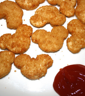 chicken nuggets, fashion and food