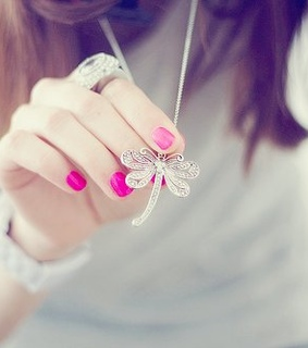 cute, dragonfly and fashion