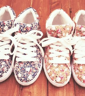 cute, fashion and floral