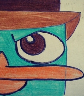 agent p, cute and draw