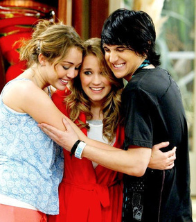 emily osment, hannah montana and miley cyrus
