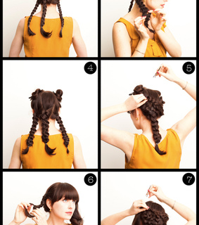 blog, braid and braided bun