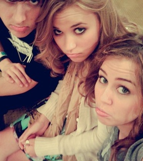 emily osment, miley and miley cyrus