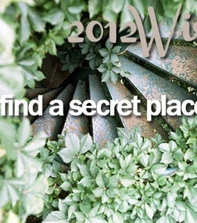 2012, cute and find a secret place