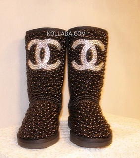 black, bling and boots
