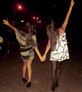 dress, friends and latin girl