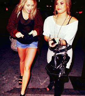 demi lovato, demiley and diley