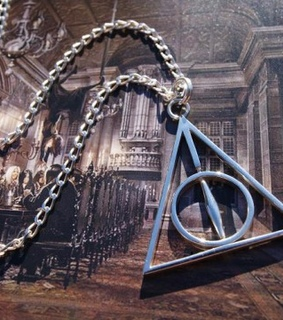 deathly hallows, deathly hallows necklace and designer necklace