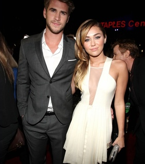 gorgeous, liam hemsworth and miley and liam