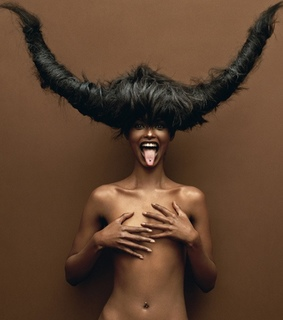 black, girl and succubus