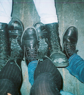 analog, boots and disposable camera