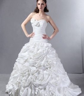 ball gown wedding dresses, fashion and girl