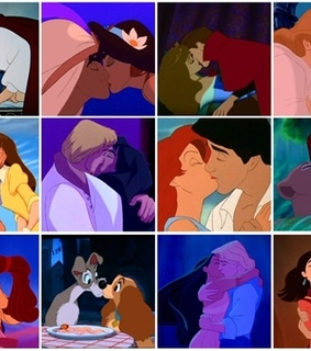 disney, happy ever after and kisses