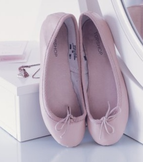ballet flats, bows, cute, flats, girly - image #124781 on