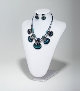 bib necklace, resin shell necklace set and seashell necklace set