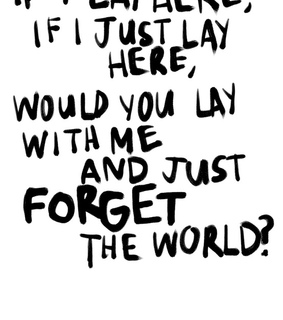chasing cars, forget and love