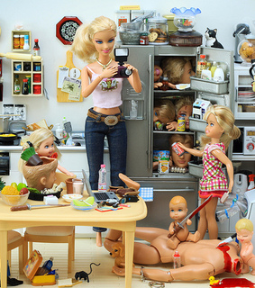 barbie, barbie funny and death
