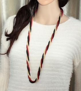 metal mesh necklace, multi strand mesh necklace and multicolor mesh necklace