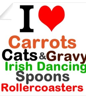 and, carrots and cats
