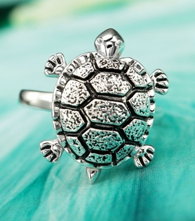 antique silver turtle rings, antique turtle rings and cocktail turtle rings