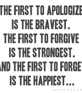 amen, and and apologize