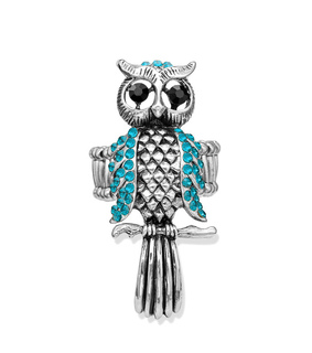cocktail owl ring, cocktail rings and owl rings