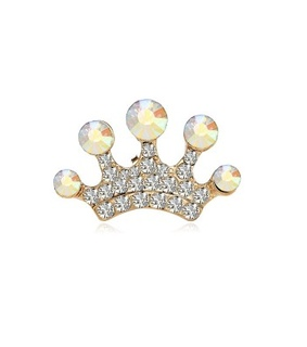 clear crown lapel pin, crown lapel pin and crown lapel pin brooch