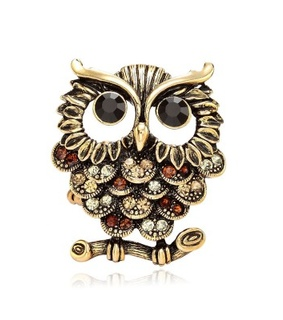 antique gold owl rings, fashion and gold owl rings