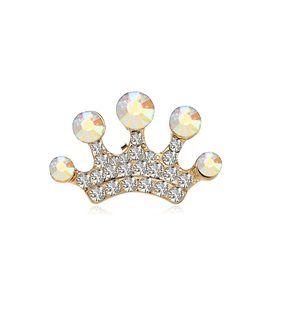 adorable, crown lapel pins and crystal crown pins brooches
