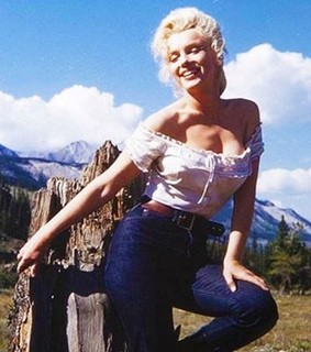 cowgirl, marilyn monroe and river of no return