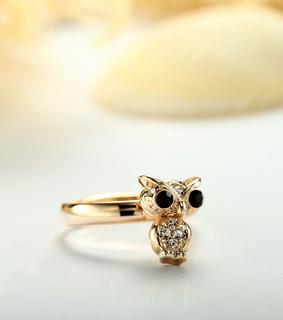 animal jewelry, animal rings and cute